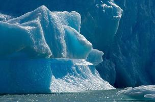 ijsbergen. ijs. perito moreno gletsjer. Argentinië. foto