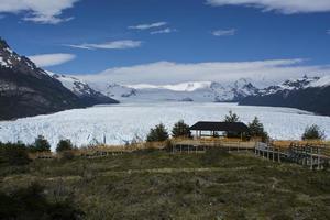 brede gletsjer in argentinië foto