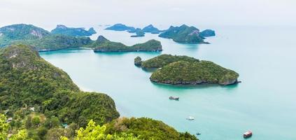 jachthaven nationaal park koh samui thailand foto