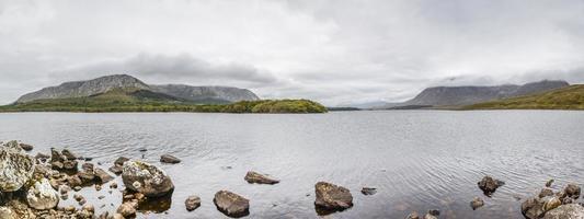 lough inagh, connerama national park, ierland