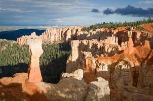 bryce canyon, agua canyon, utah, usa foto