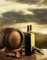 wijn en wijngaard foto