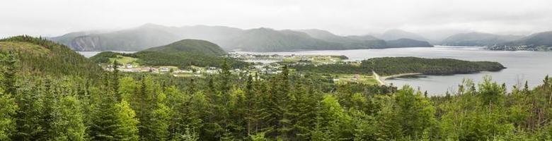 bonne bay en norris point panorama