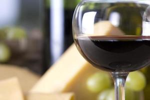 kaas en wijn foto