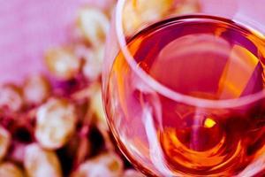 druif en wijn foto