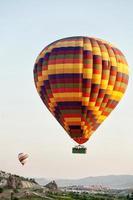 heteluchtballon foto