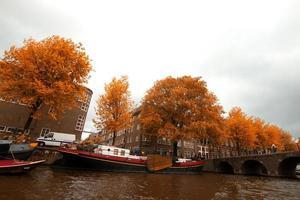 amsterdam herfst. foto
