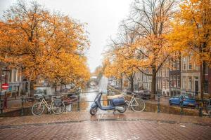 amsterdam herfst foto