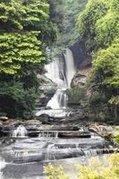 sirithan waterval, chiang mai thailand. foto