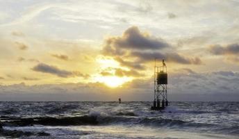 zonsopgang - Bethany Beach, Delaware foto