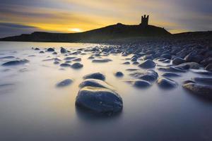 Dunstanburgh Castle ochtend