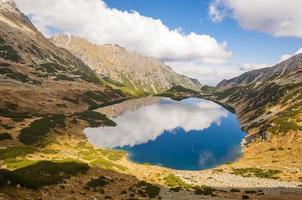 vallei van vijf Poolse vijvers - geweldige vijverpoets