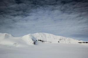 arctische lente in zuid-spitsbergen.