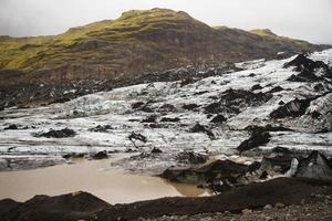 vatnajokull ijslandse gletsjer foto