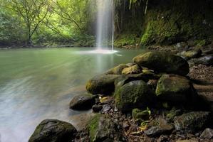 twin falls, van de weg naar hana, maui, hawaii foto