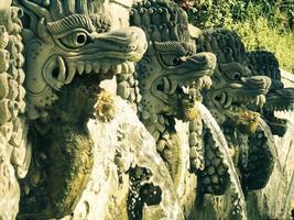 Bali standbeeld foto