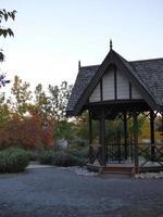 herfst paviljoen foto