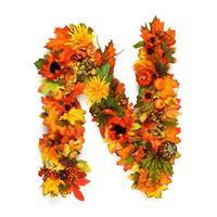 herfst alfabet