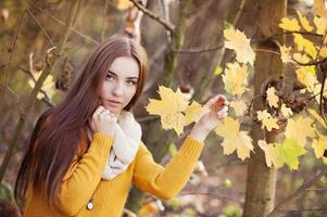 herfst meisje