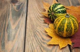 herfst pompoenen