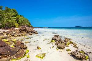 exotisch tropisch strand. foto