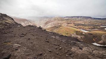 vulkanisch landschap - Landmannalaugar, IJsland