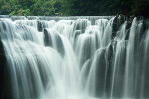 de beroemdste en de hoogste waterval in Taiwan