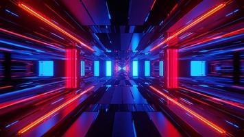 kleurrijke filmische 3d illustratie