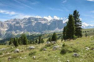 val gardena in italië foto