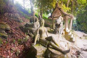 tanim magic buddha garden, koh samui island foto