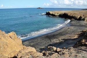 strand tussen schiereilanden foto