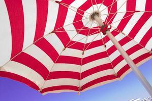 sectie van parasol foto
