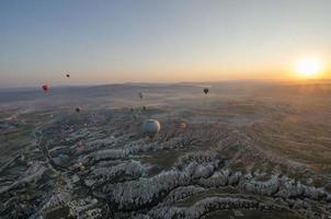 cappadocia ballonvlucht foto