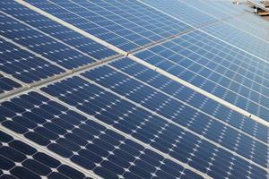 panelen zonne-energie foto