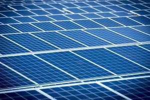 zonnepanelen foto