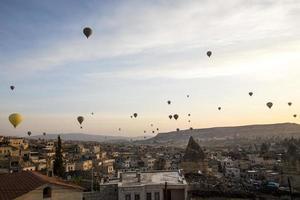cappadocia ballonnen foto