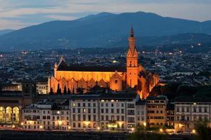 santa croce, florence, toscane