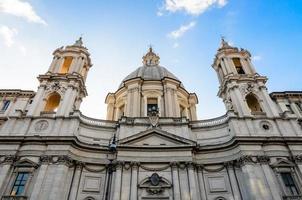 Piazza Navona. santa maria in agone foto