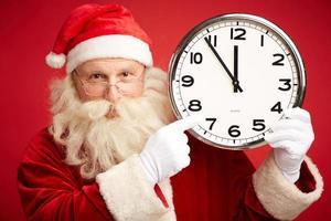 vijf minuten voor kerstmis foto