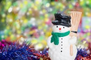 sneeuwman foto