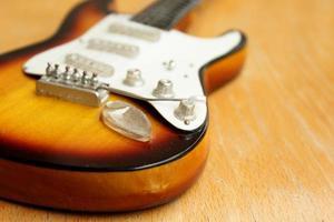 mooie elektrische gitaar foto