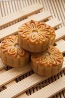 mooncake, traditioneel Chinees voedsel tijdens medio herfstfestival