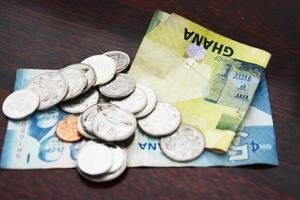 wisselgeld in Ghana foto
