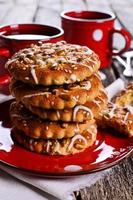 ronde koekjes foto