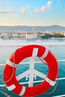 veilige cruise achtergrond