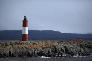 leuchturm im beagle canel feuerland foto
