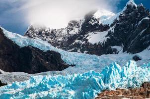 gletsjer serrano foto