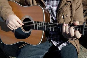 country muzikant foto