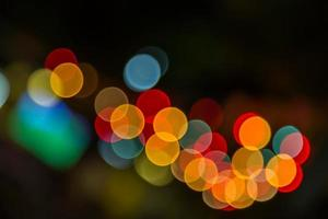 wazig abstract licht bokeh foto