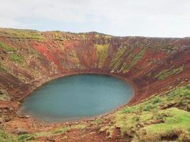Kerio krater, IJsland